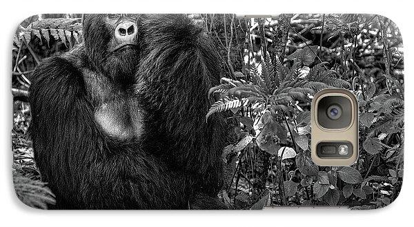 Gorilla Galaxy S7 Case - Kwitonda Silverback by Karen Lunney