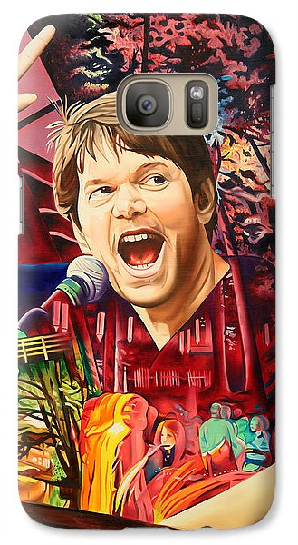 Galaxy Case featuring the painting Kyle Hollingsworth At Hornin'gs Hideout by Joshua Morton