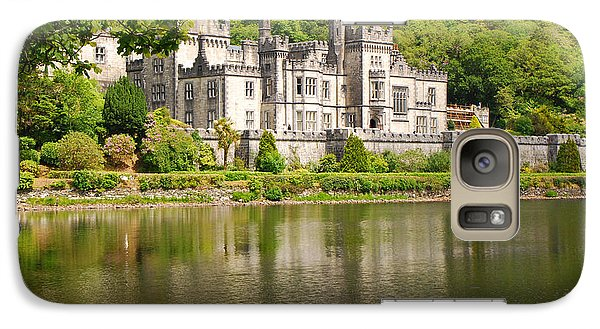 Galaxy Case featuring the photograph Kylemore Abbey 2 by Mary Carol Story