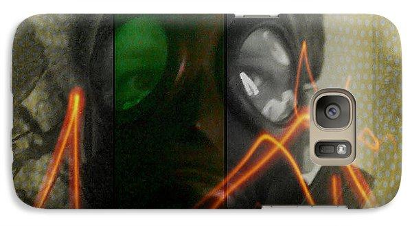 Galaxy Case featuring the photograph L S D  Part Three by Sir Josef - Social Critic - ART