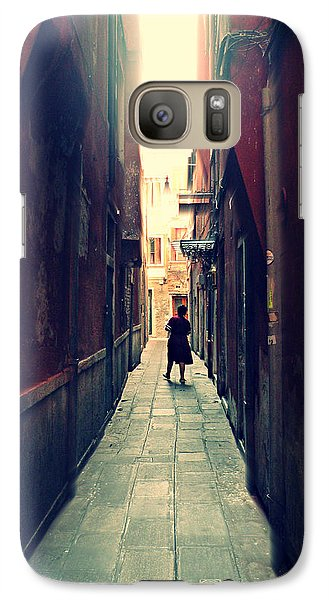 Galaxy Case featuring the photograph La Cameriera  by Micki Findlay