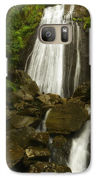 Galaxy Case featuring the photograph La Coca Falls  by Photography  By Sai