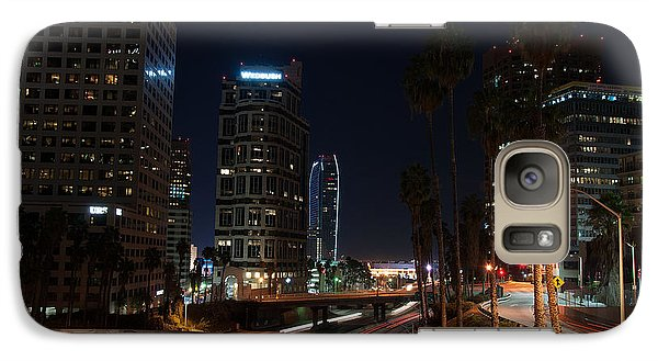 Galaxy Case featuring the photograph La Down Town 2 by Gandz Photography