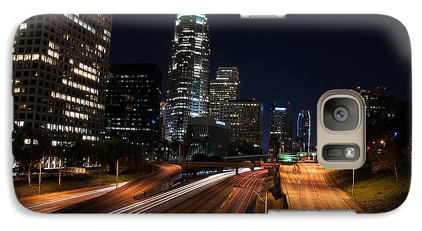 Galaxy Case featuring the photograph La Down Town by Gandz Photography