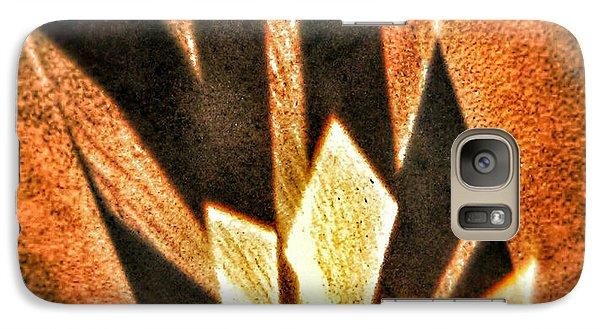 Galaxy Case featuring the photograph La Flamme Qui Enflamme Sans Bruler by Steven Huszar