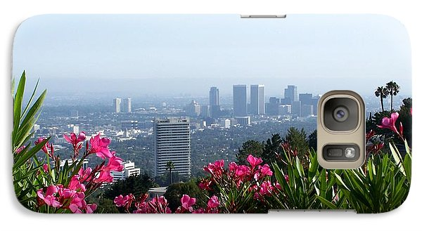 Galaxy Case featuring the photograph L.a. From Beverly Hills by Dany Lison
