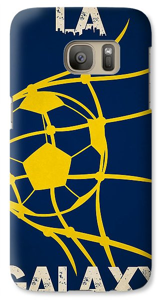 La Galaxy Goal Galaxy Case by Joe Hamilton