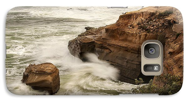 Galaxy Case featuring the photograph La Jolla Cove 1 by Lee Kirchhevel
