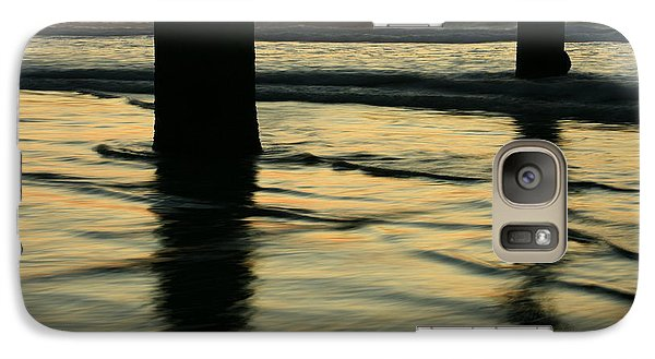 Galaxy Case featuring the photograph La Jolla Shores Sunset by John F Tsumas