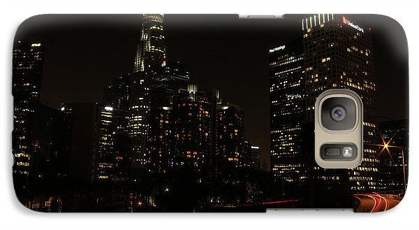 Galaxy Case featuring the photograph LA by Kevin Ashley