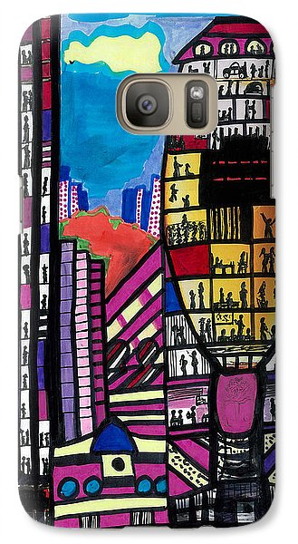 Galaxy Case featuring the digital art La Lifestyle by Don Koester