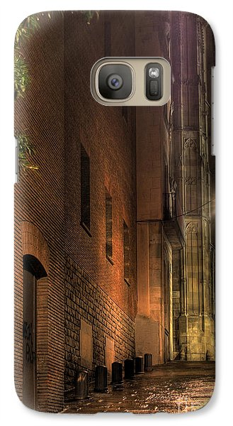 Galaxy Case featuring the photograph La Rambla by Erhan OZBIYIK