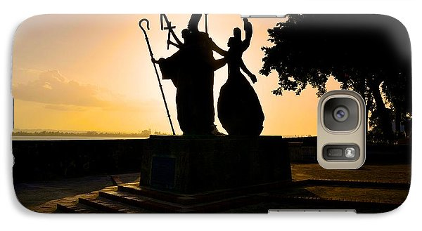 Galaxy Case featuring the photograph La Rogativa 1 by Ricardo J Ruiz de Porras