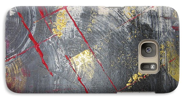 Galaxy Case featuring the painting La Ruche by Lucy Matta
