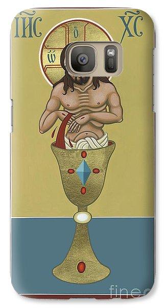 Galaxy Case featuring the painting La Sangre De Cristo 242 by William Hart McNichols