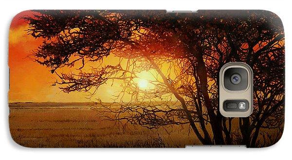 La Savana Al Tramonto Galaxy S7 Case by Guido Borelli