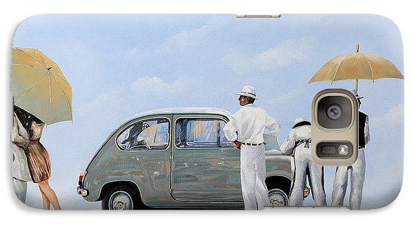 Transportation Galaxy S7 Case - La Seicento by Guido Borelli