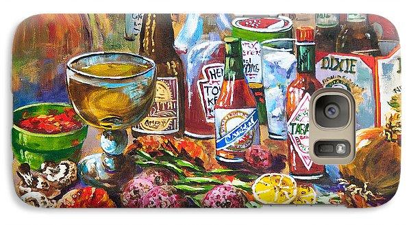 Food And Beverage Galaxy S7 Case - La Table De Fruits De Mer by Dianne Parks