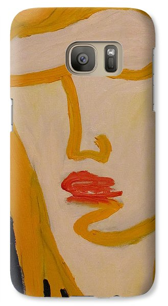 Galaxy Case featuring the painting L.a. Woman by Shea Holliman