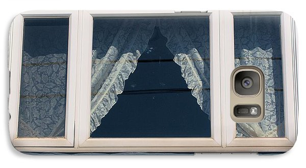 Galaxy Case featuring the photograph Lace Curtains 2 by Douglas Pike