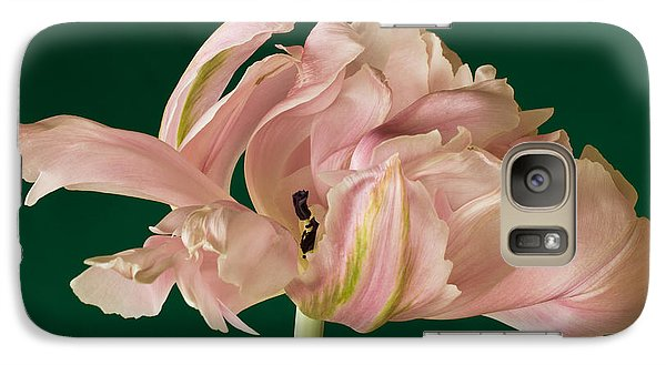 Galaxy Case featuring the photograph Lacey Tulip by Patricia Schaefer
