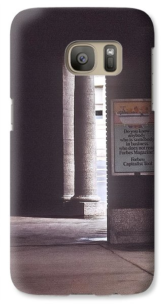 Galaxy Case featuring the photograph Lackawanna Station by Kellice Swaggerty