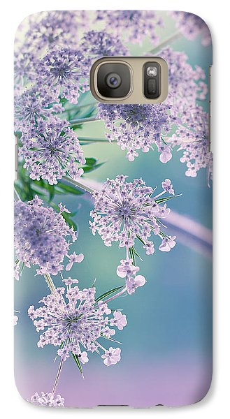 Galaxy Case featuring the photograph Beneath The Veil by Annette Hugen
