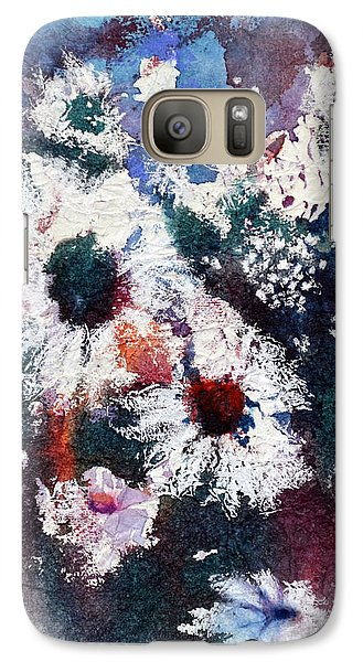 Galaxy Case featuring the painting Lacy Petals by Joan Hartenstein