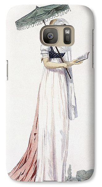 Ladies Elegant Summer Dress Galaxy Case by English School