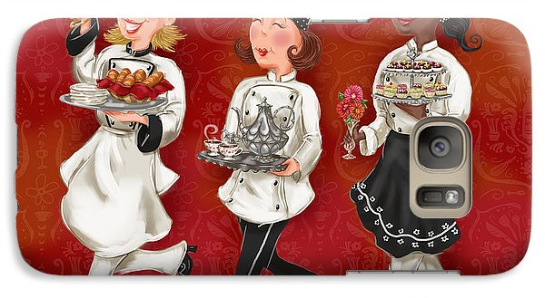 Lady Chefs - Brunch Galaxy S7 Case