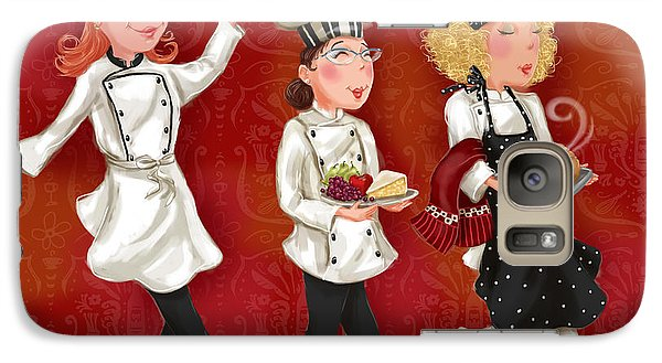 Lady Chefs - Lunch Galaxy S7 Case