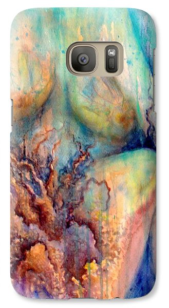 Lady In The Reef Galaxy S7 Case