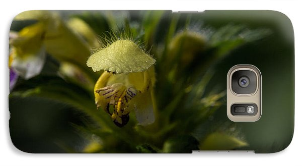Galaxy Case featuring the photograph Lady In Yellow Dress by Leif Sohlman