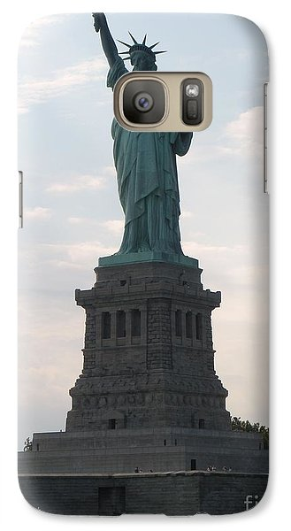 Galaxy Case featuring the photograph Lady Liberty by Luther Fine Art