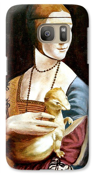 Galaxy Case featuring the painting Lady With An Ermine by Henryk Gorecki