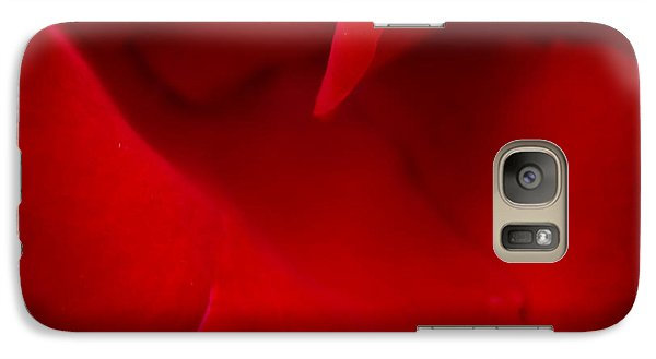 Galaxy Case featuring the photograph Ladybird In Rose by Peta Thames