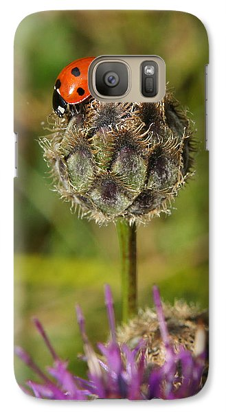 Galaxy Case featuring the digital art Ladybird by Ron Harpham