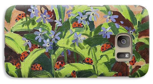 Ladybirds Galaxy Case by Andrew Macara