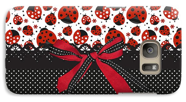 Ladybug Energy  Galaxy S7 Case by Debra  Miller