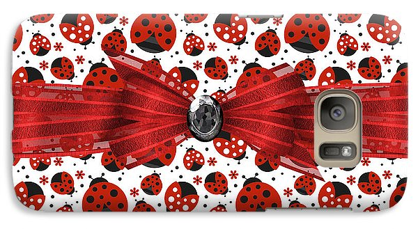 Ladybug Obsession  Galaxy S7 Case by Debra  Miller