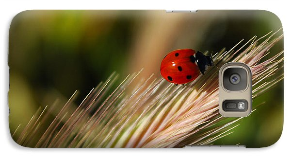 Galaxy Case featuring the photograph Ladybug by Richard Stephen