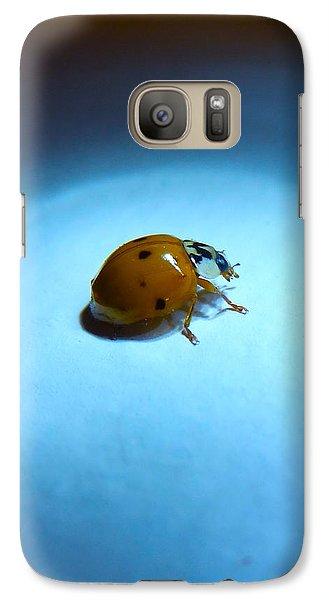 Ladybug Under Blue Light Galaxy S7 Case