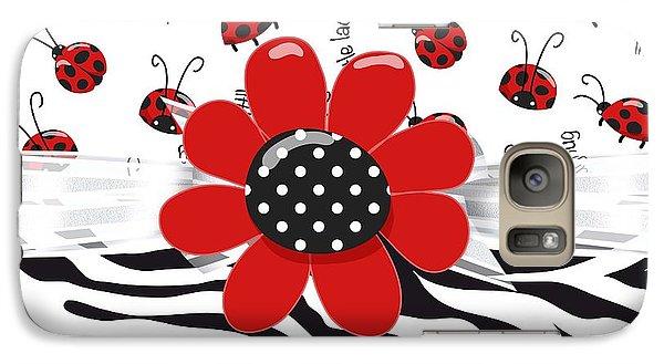 Ladybug Wild Thing Galaxy S7 Case