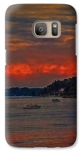 Galaxy Case featuring the photograph Lago Maggiore by Hanny Heim