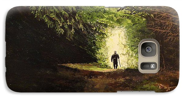 Galaxy Case featuring the painting Laird Kenneth  by Betty-Anne McDonald