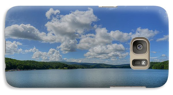 Galaxy Case featuring the photograph Lake Arrowhead by Julia Wilcox