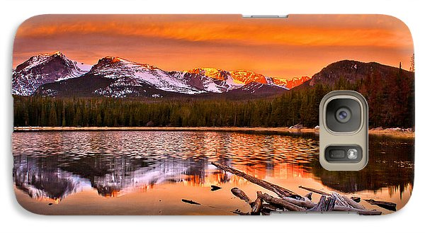Galaxy Case featuring the photograph Lake Bierstadt In The Morn by Steven Reed