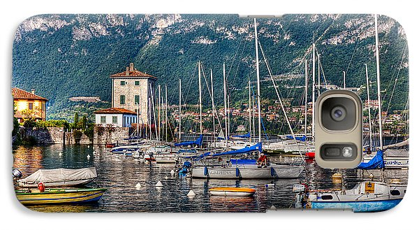 Galaxy Case featuring the photograph Lake Como by Uri Baruch