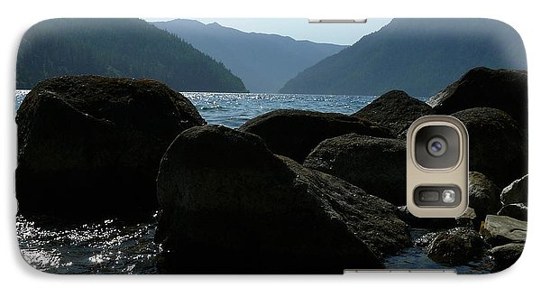 Galaxy Case featuring the photograph Lake Crescent by Jane Ford