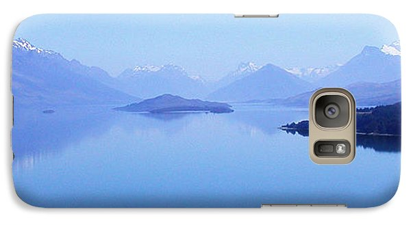 Galaxy Case featuring the photograph Lake Glenorchy New Zealand by Ann Lauwers